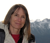 Linda Nagata at Hurricane Ridge, Olympic National Park