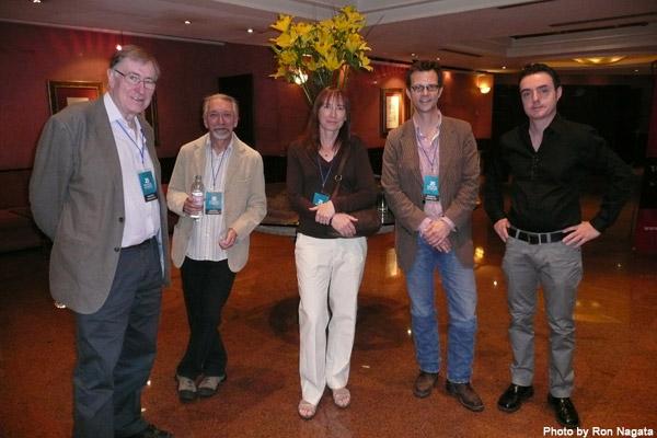 Christopher Priest, M. John Harrison, Linda Nagata, Chris Nakashima-Brown, Mark Dery