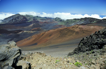 Haleakala Crater - photo by Ronald J. Nagata