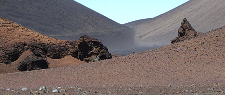 Central crater, Haleakala National Park