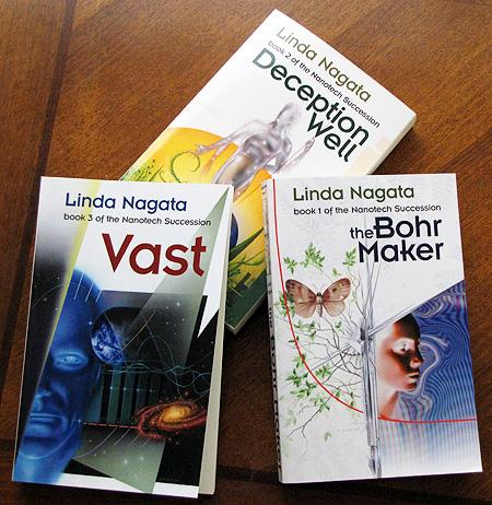 The Nanotech Succession: Books 1-3