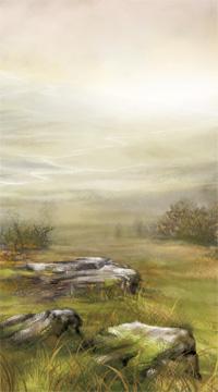 Distant mist. Artist: Sarah Adams