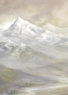 Snowy Mountains. Artist: Sarah Adams