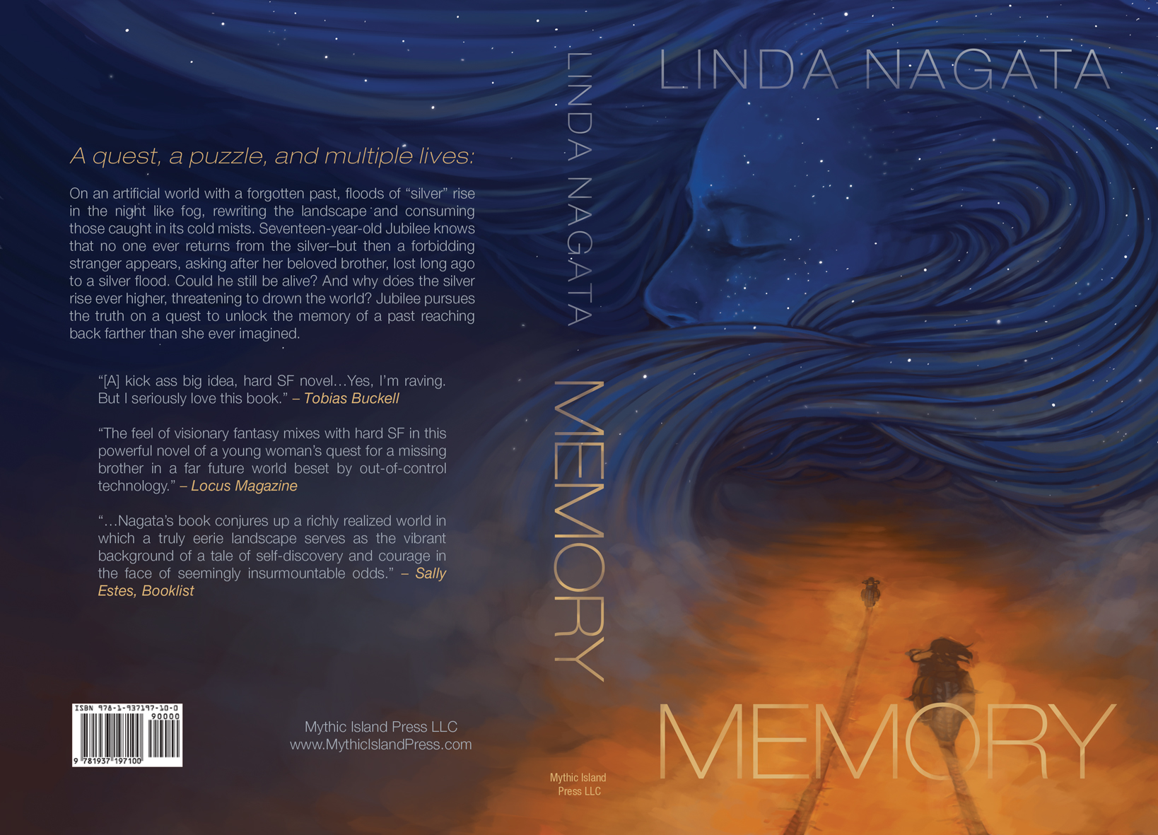 New book cover for MEMORY