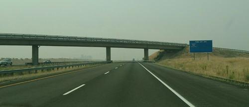Another look at the smoke we encountered on our return to Seattle.