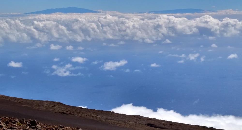 Mauna Kea and Mauna Loa on the Big Island