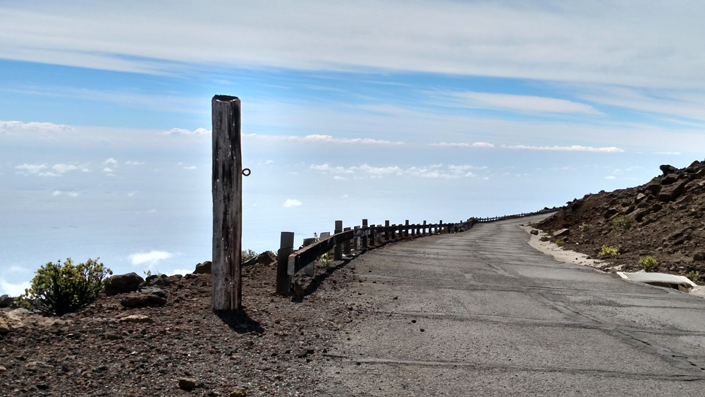 Skyline Trail - road at the edge of the world